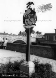 Arundel, Town Sign c.1960