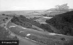 Arundel, View From Bury Hill 1928