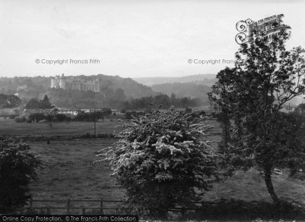 Photo of Arundel, View From Causeway 1923
