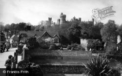 Arundel, View From The Bridge c.1955