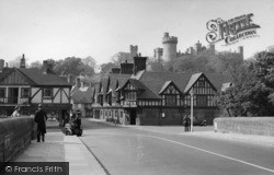 Arundel, View From The Bridge c.1955