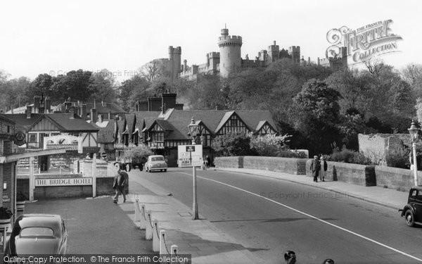 Arundel, View From The Bridge c.1960