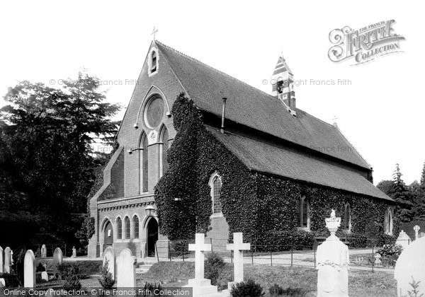 Photo of Ascot, All Saints Church 1901