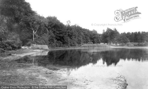 Photo of Ascot, Englemere Pond 1901