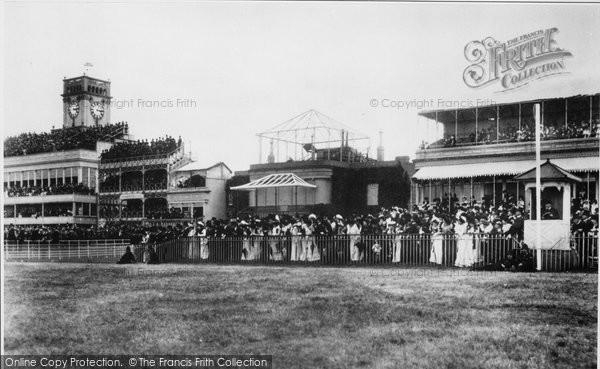 Photo of Ascot, Grandstand 1901