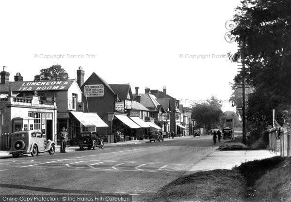 Photo of Ascot, High Street c.1955