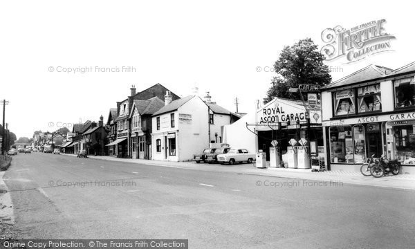 Photo of Ascot, High Street c.1960