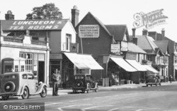 Ascot, High Street, Post Office And Shops c.1955