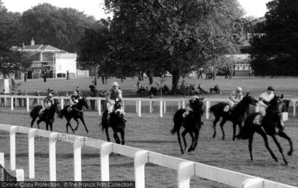 Photo of Ascot, Horse Racing c.1960