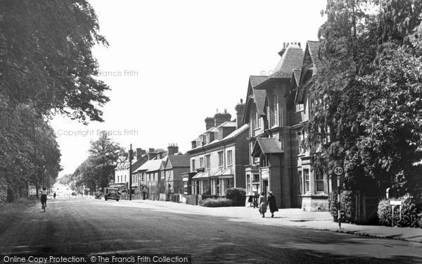 Photo of Ascot, London Road c.1955