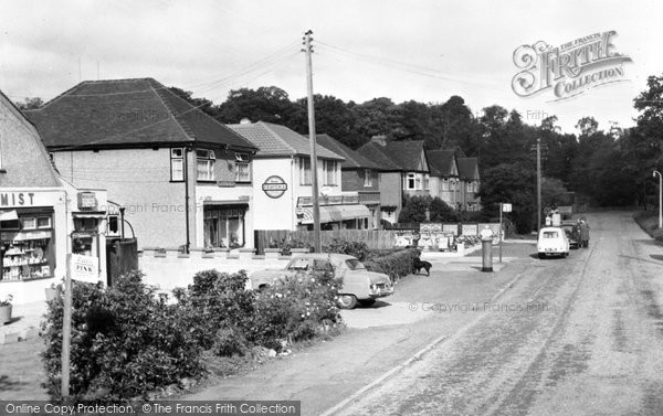 Photo of Ascot, New Road c.1955