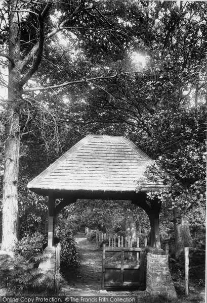 Photo of Ascot, Priory, Entrance To Cemetery 1901