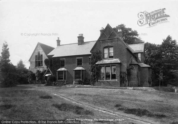 Photo of Ascot, Priory, The Hermitage 1901