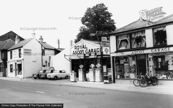Photo of Ascot, Royal Ascot Garage c.1960