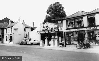 Ascot, Royal Ascot Garage c1960