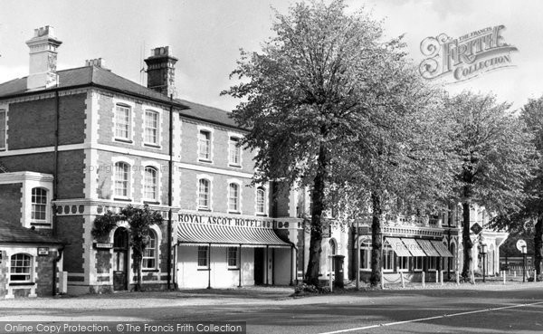 Photo of Ascot, Royal Ascot Hotel c.1955