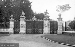 Ascot, The Golden Gates c.1955