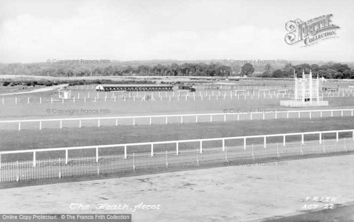 Photo of Ascot, The Heath c.1955