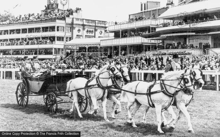 Ascot, The Royal Coach c.1955