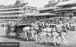 Ascot, The Royal Coach c.1955
