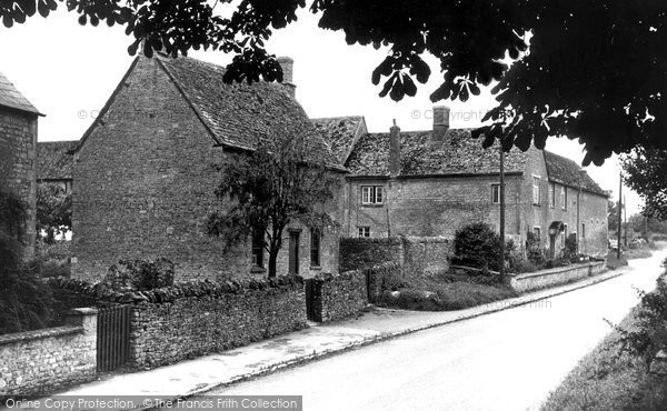 Photo of Ascott Under Wychwood, 1950