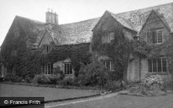 Ascott-Under-Wychwood, Manor House c.1950
