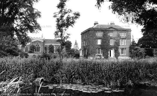 Photo of Asfordby, All Saints' Church And The Rectory c.1955