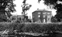 Asfordby, All Saints' Church And The Rectory c.1955