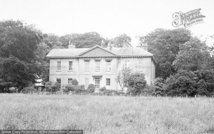 Photo of Asfordby, Asfordby Hall c.1955