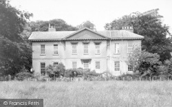 Asfordby, Asfordby Hall c.1955