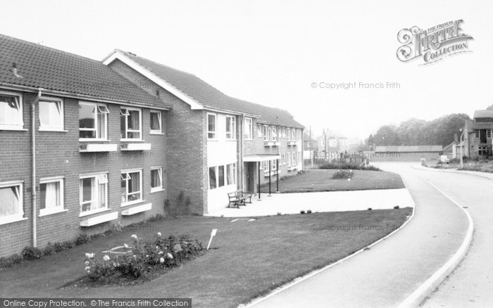 Photo of Asfordby, Bradgate Flats c.1960