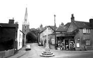 Asfordby, Church Lane c1960