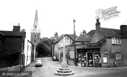 Asfordby, Church Lane c.1960