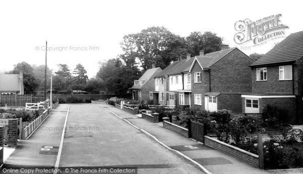 Asfordby, Dalgliesh Way c1965