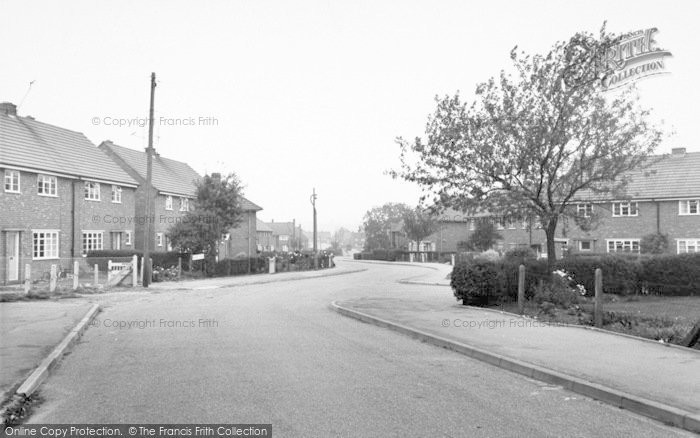 Photo of Asfordby, Regency Road c.1960