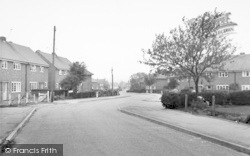 Asfordby, Regency Road c.1960