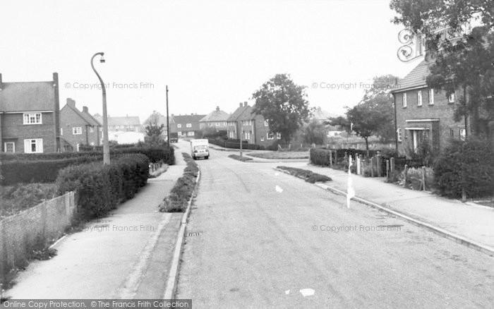 Photo of Asfordby, Regency Road c.1960