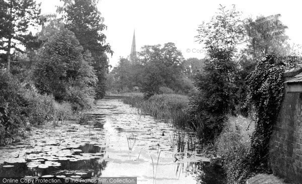 Photo of Asfordby, River Wreak And The Church c.1955