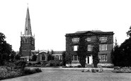 Asfordby, the Church and Rectory c1955
