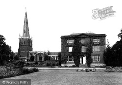 Asfordby, The Church And Rectory c.1955