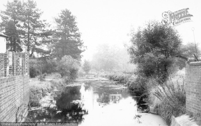 Photo of Asfordby, The Church And River c.1960