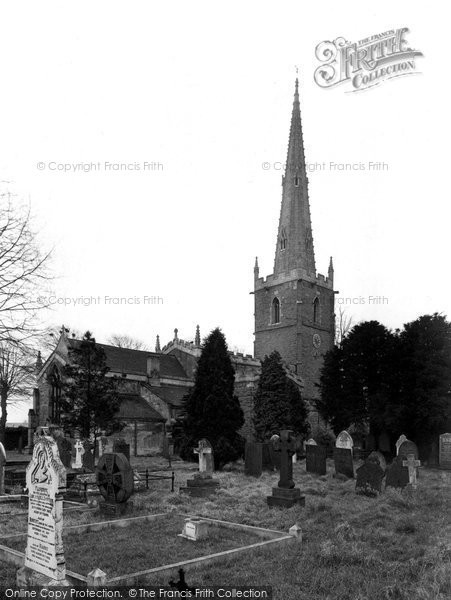 Photo of Asfordby, The Church By The Wreak c.1960