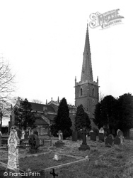 Asfordby, The Church By The Wreak c.1960