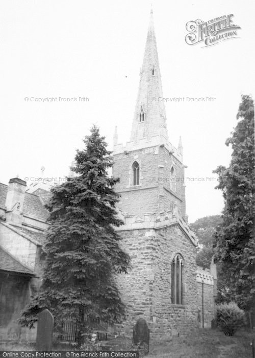 Photo of Asfordby, The Church c.1965