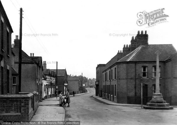 Asfordby, the Cross c1960