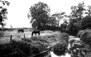 Asfordby, The River Wreak c.1960