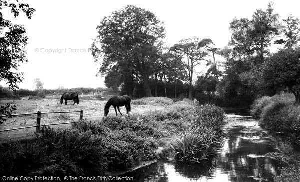 Asfordby, the River c1960