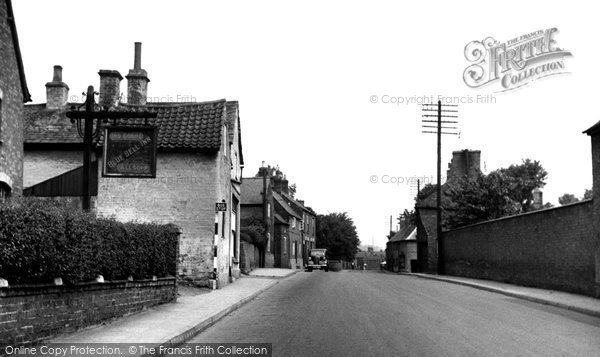 Photo of Asfordby, The Street c.1955