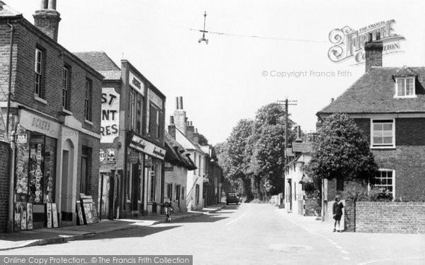 Photo of Ash, Chequers Corner c.1955