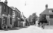 Ash, Chequers Corner c.1955